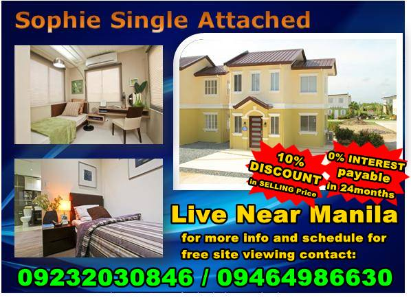 Sophie House and Lot With Linear Park PHP14k monthly