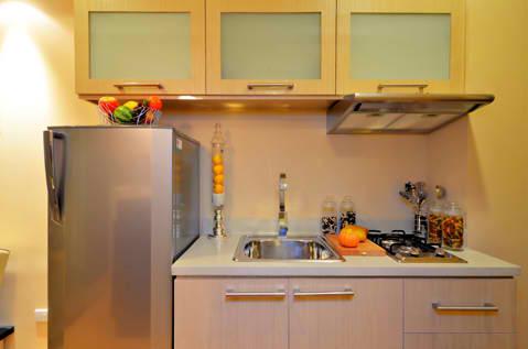 kitchen of studio