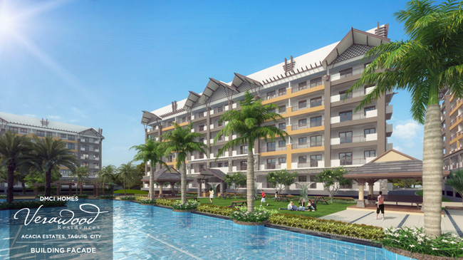 3 bedroom unit available in Verawood Residences- Taguig City