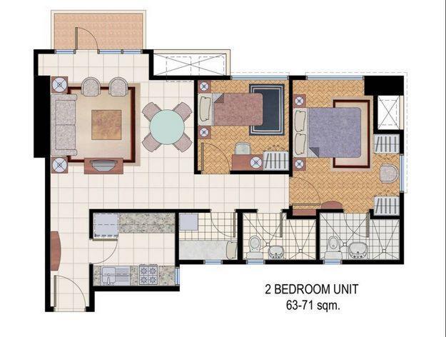 Columns Floor Plan