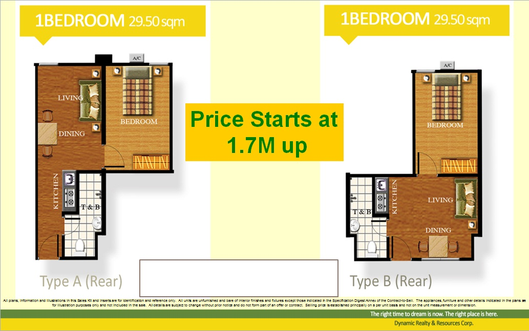 1bedroom 30 sqm