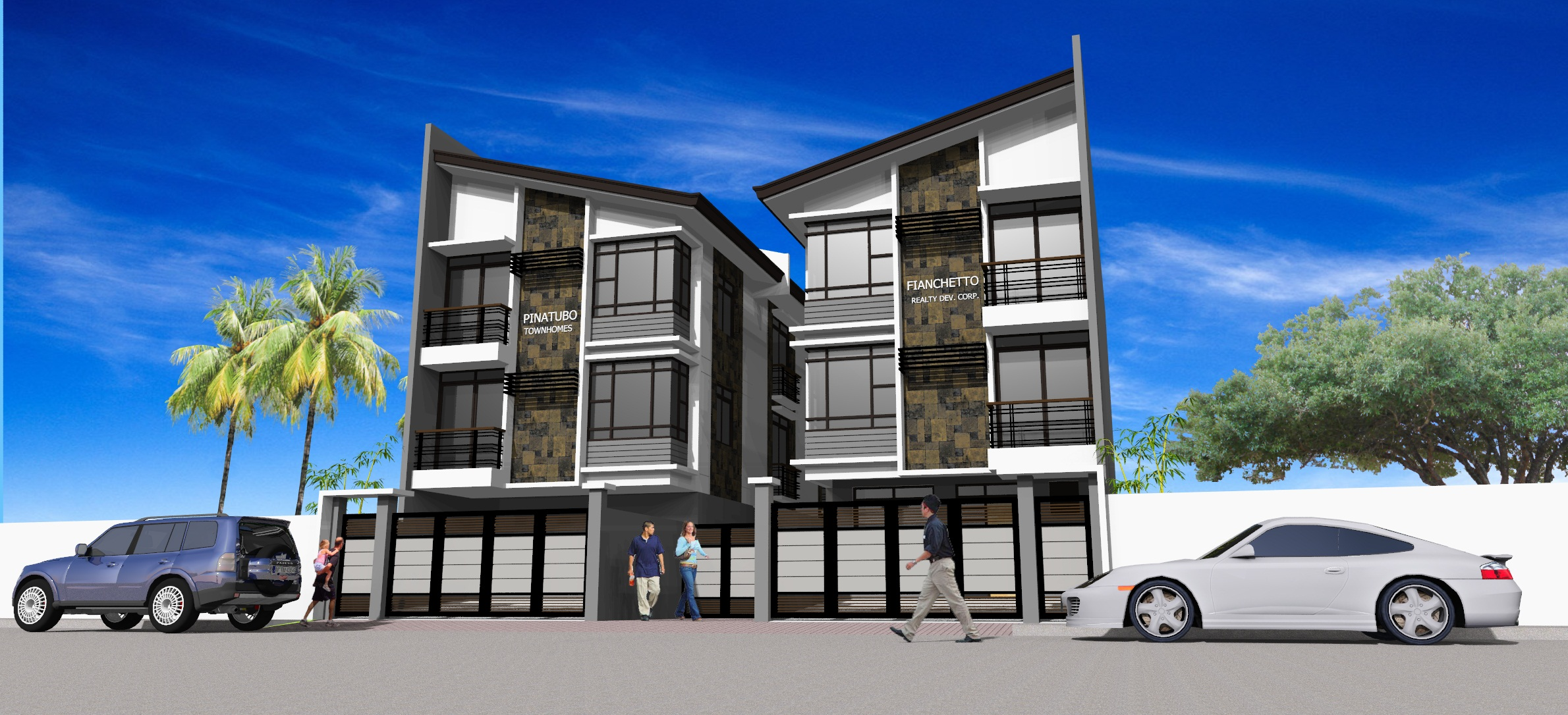 PINATUBO TOWNHOMES  4 bedroom 2 garage 2 powder room  For Sale House and Lot Mandaluyong City   Townhouse for sale near Makati City CBD House for sale in Mandaluyong City Near EDSA and Megamall