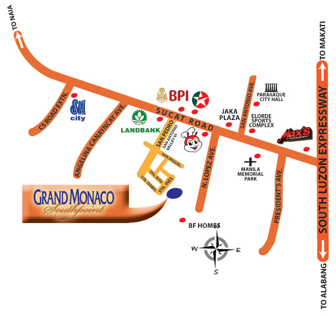 GRAND MONACO SOUTHPOINT EXTENSION TOWNHOUSES PARANAQUE FOR SALE House