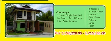 PAYMENT TERMS Reservation to hold a unit-P20,000.00  House Construction starts upon completion of 15% of Total Contract Price.  20% Down payment -24 months to pay no interest Balance thrue the following A. In-house financing upto 15 years the lowest in-ho