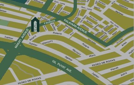 Vicinity Map - http://www.renttoown.ph