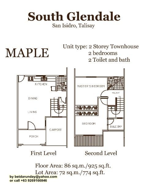 Maple Flr Plan