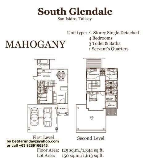 Mahogany Flr Plan