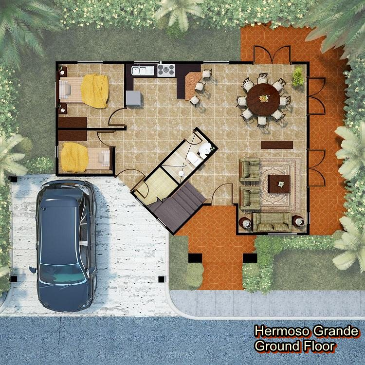 Hermoso Grde-Flr Plan 1