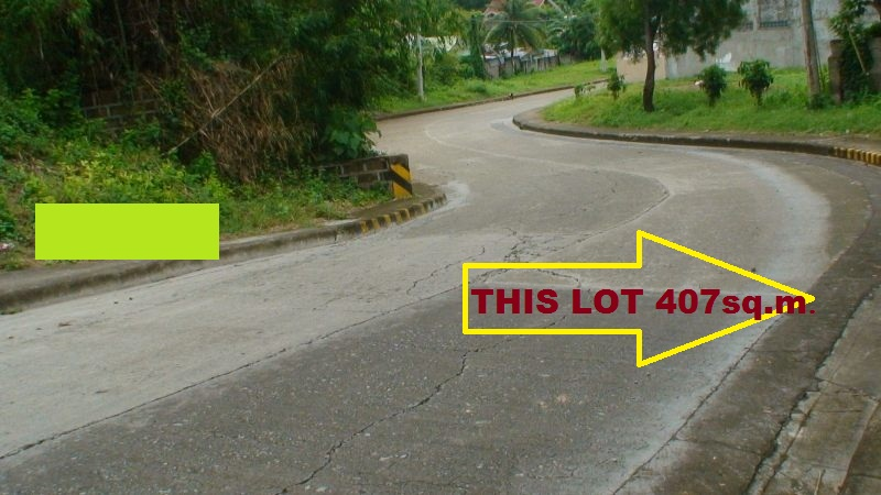 THIS PROPERTY LOT IS ONLY 50 METERS AWAY  FROM  ENTRANCE GATE , , A WALKING DISTANCE GOING TO HIGHWAY OF BULACAO, TALISAY CITY, CEBU.