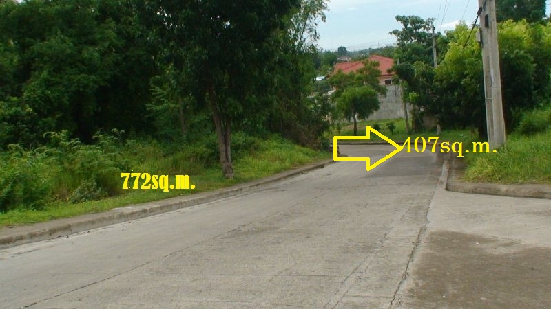 PHASE 1A-2,  BLOCK 3, LOT 6, CONTAINING LOT AREA, 407sq.m. 2nd from the Corner. Along main road.  ASKING PRICE  P 9,300.00 PER SQ.M.