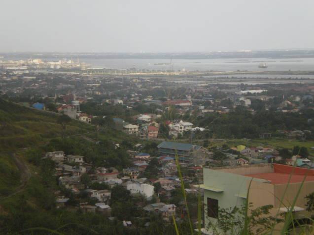 facing the view of cebu city