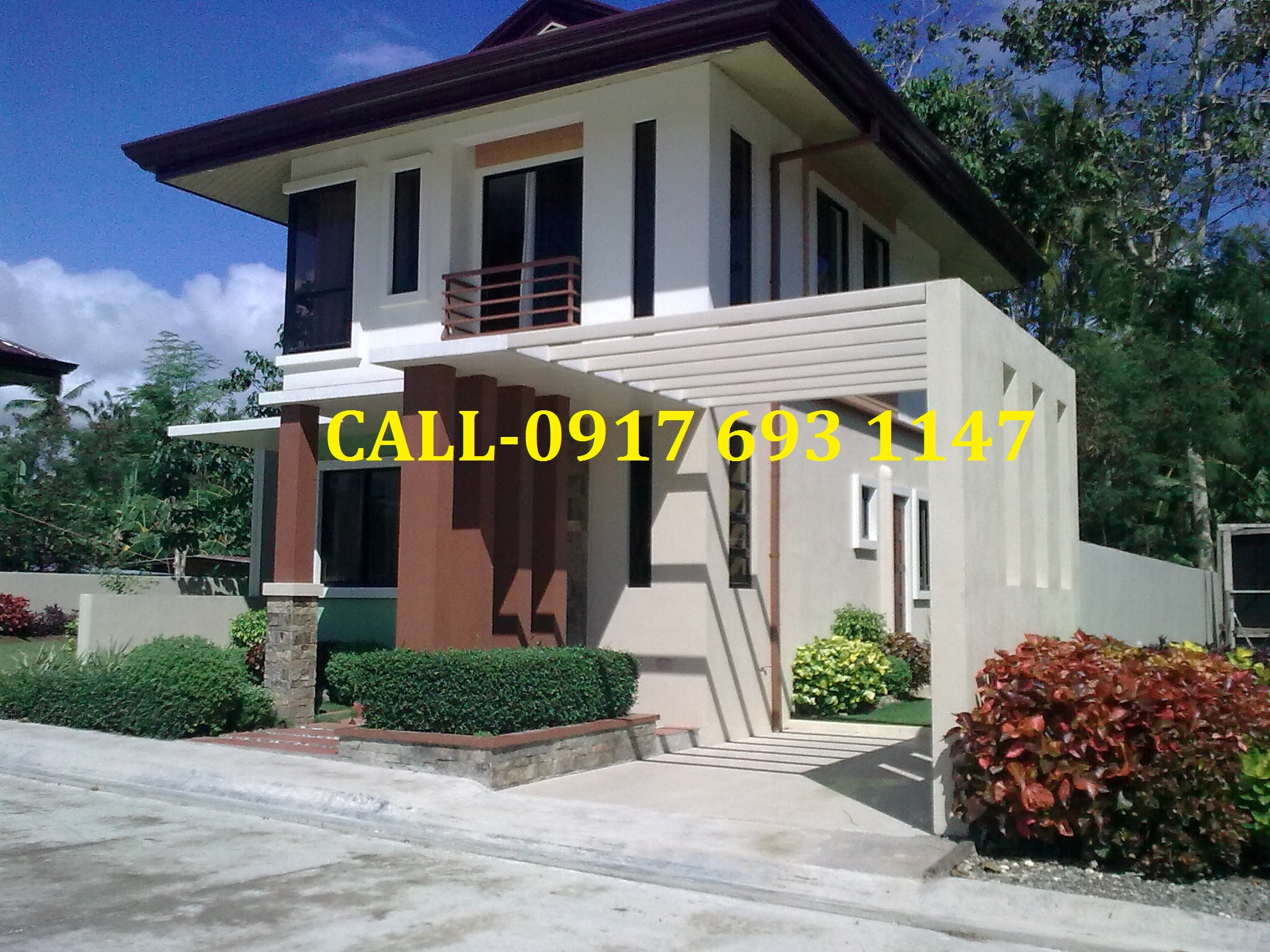 HOUSE MODELS  ( Sample Computation upon request ) 1.CHERIMOYA 2-storey Single Detached 3-BR, 2TB, 1-car garage Lot area: 142sqm ~ 158sqm Floor Area:80sqm Price: P3,597,640.00 ~ P3,716,360.00