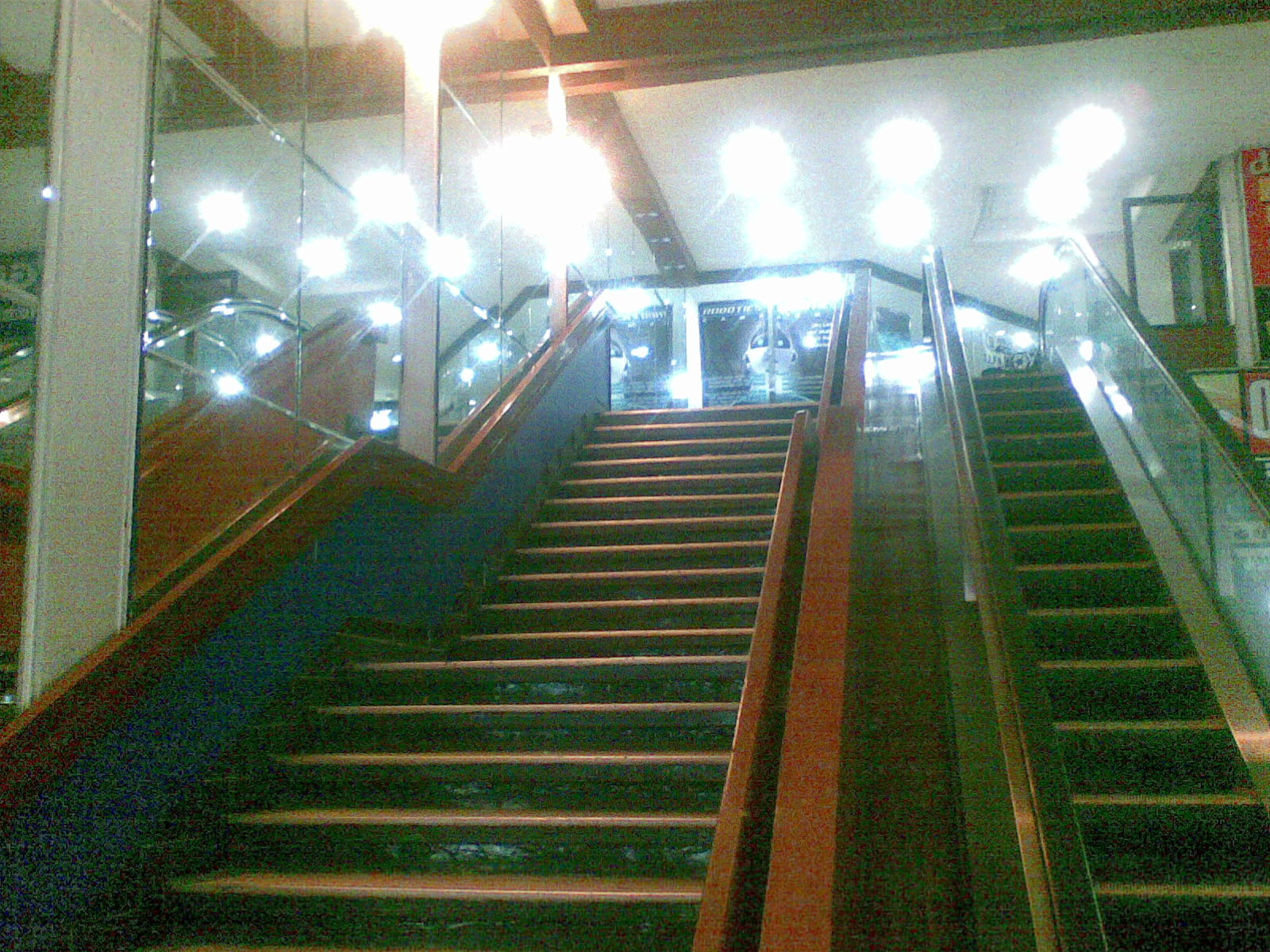 stairs to 2nd floor.