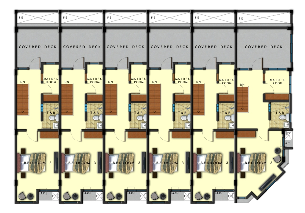 Third Floor Plan