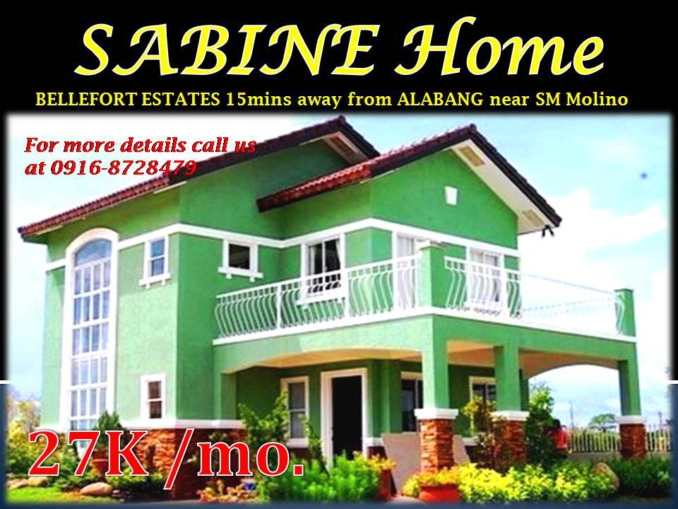 Sabine at Bellefort 4rooms near Alabang