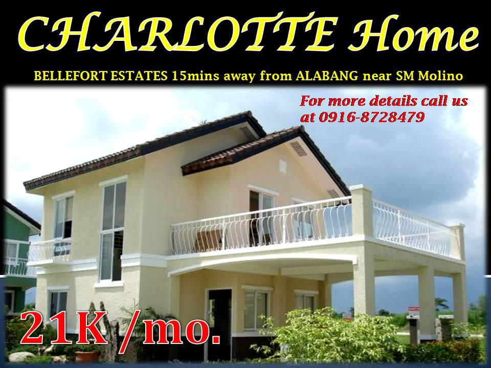 Charlotte3 bedroom at Bellefort near Alabang