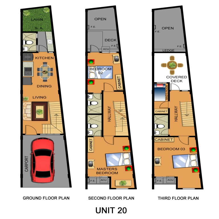 Floor Plan (Unit 20)