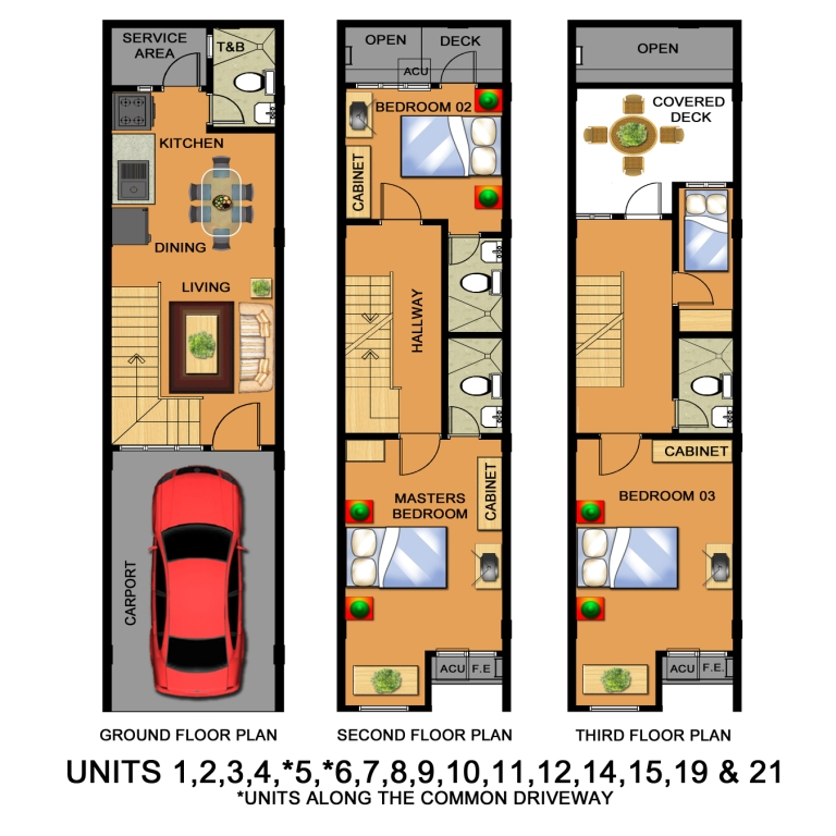 Floor Plan (Unit 21)