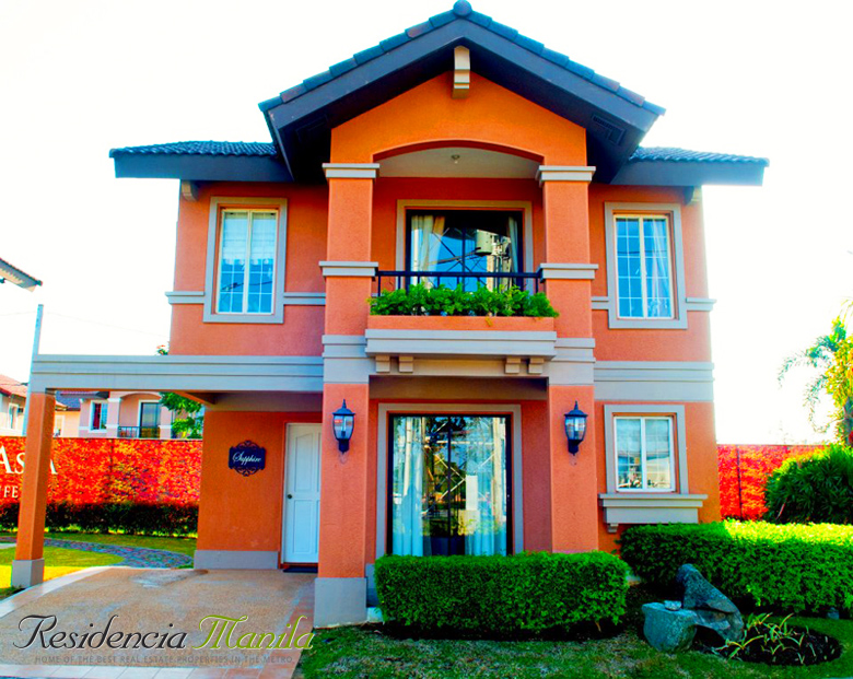 Crown Asia House and Lot in Bacoor - Sapphire Model | Vita Toscana Bacoor Cavite