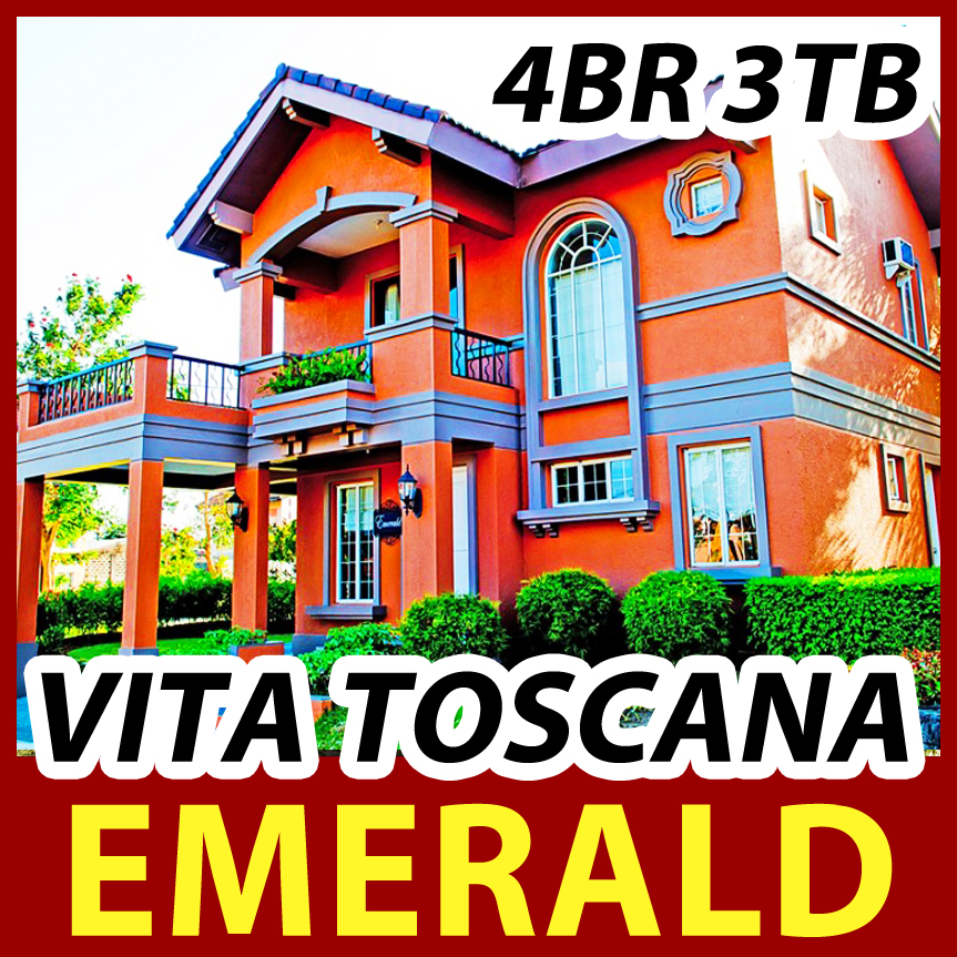 HOUSE FOR SALE BACOOR - Emerald Vita Toscana | Crown Asia Cavite