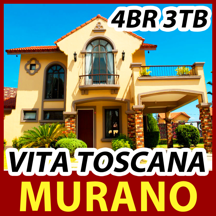 CROWN ASIA CAVITE - Murano Vita Toscana | Bacoor House for Sale