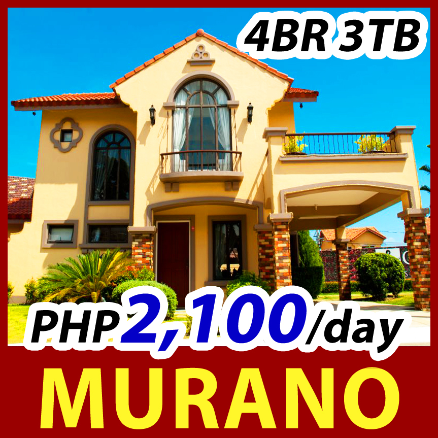 CROWN ASIA CAVITE - Citta Italia Bacoor | Murano Model Luxury House for Sale in Bacoor | Detached Home 4BR 3TB