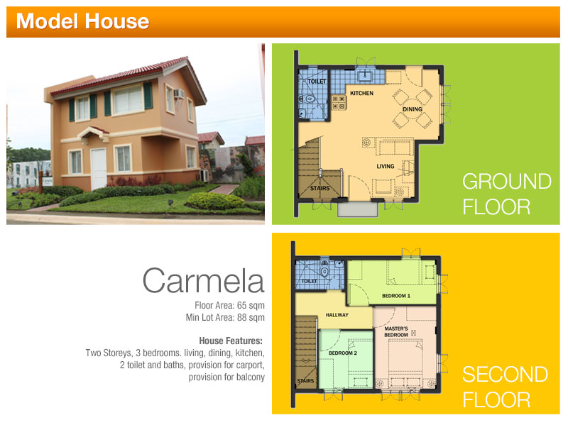 CARMELLA 3 bedroom, 2 toilet and bath  only 2,297,453