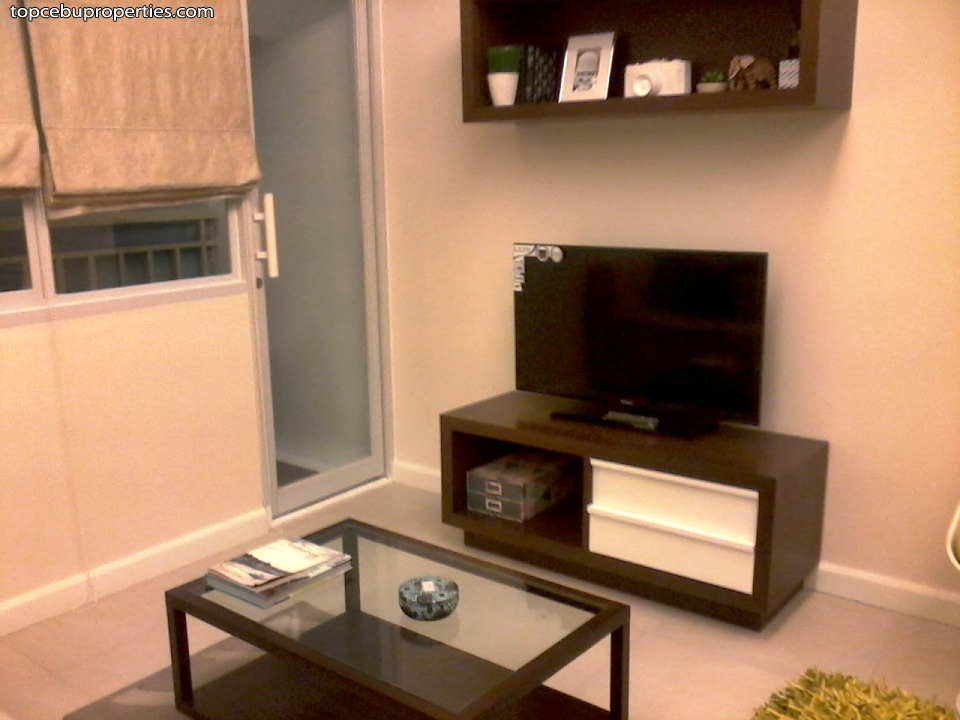 Sundance Residences Studio Model Unit Living Room