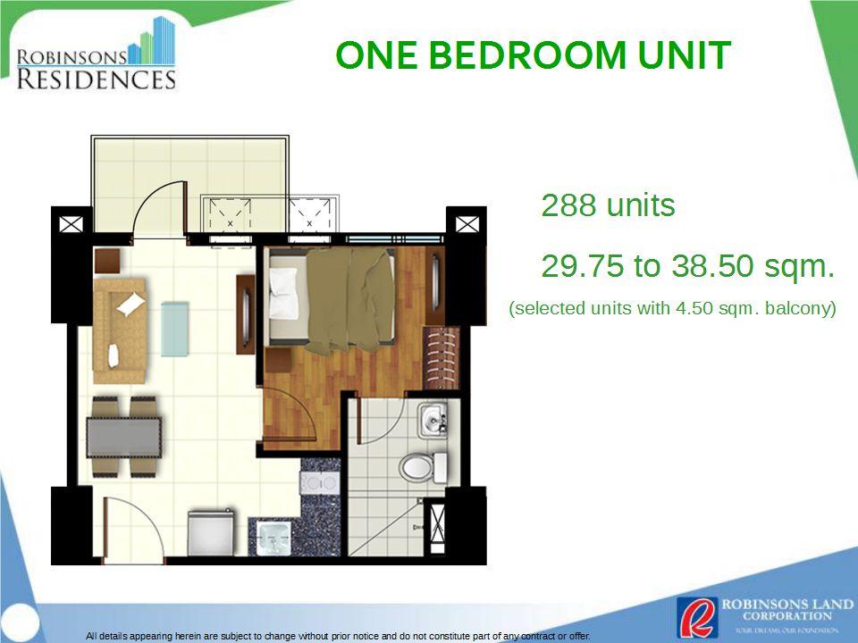 Azalea Place 1BR Floor Plan