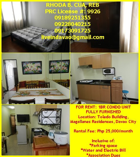 FOR RENT / LEASE: Apartment / Condo / Townhouse Davao
