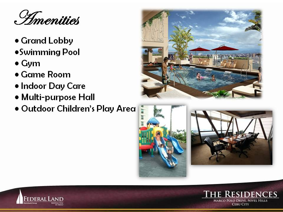 Marco Polo Two Residences amenities