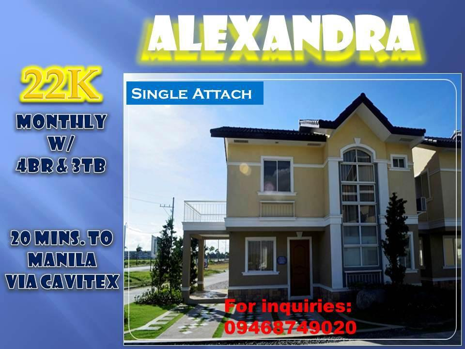 ALEXANDRA SINGLE ATTACH