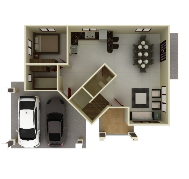 South Glendale Linden House and Lot Floorplan