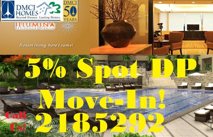 Condo in Sta Mesa Manila/5% Spot Move-In/Condo for Sale/Call Us+632-2185292