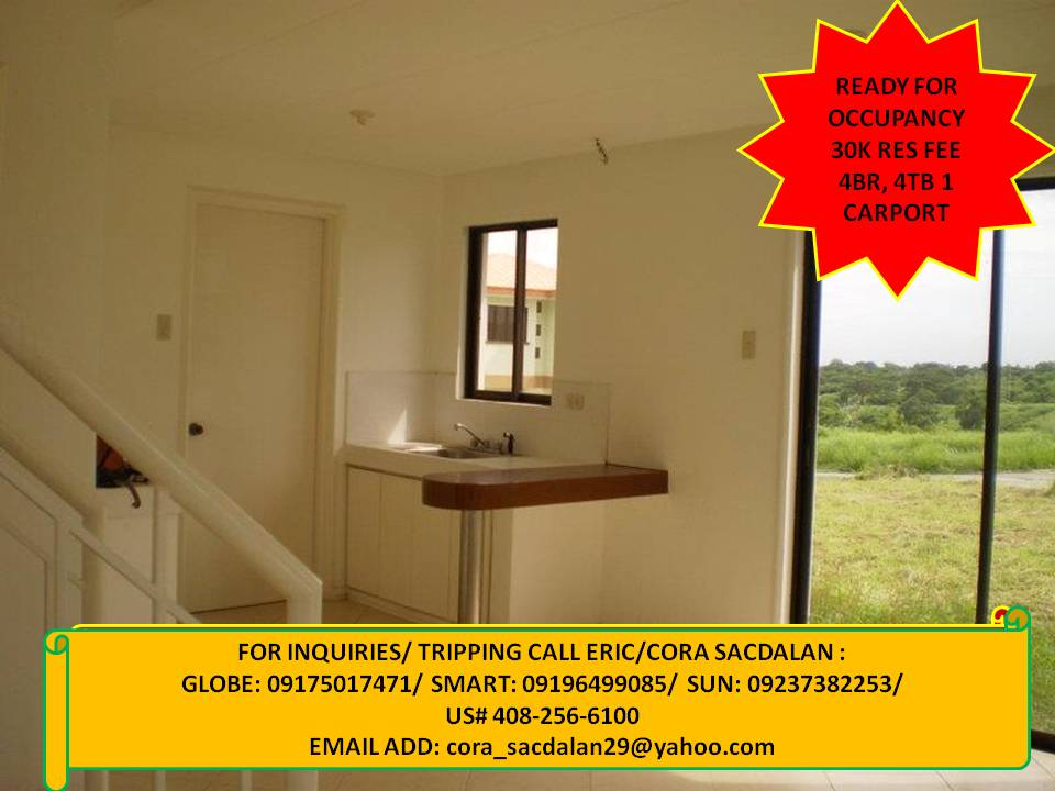bahay at lupa rush for sale