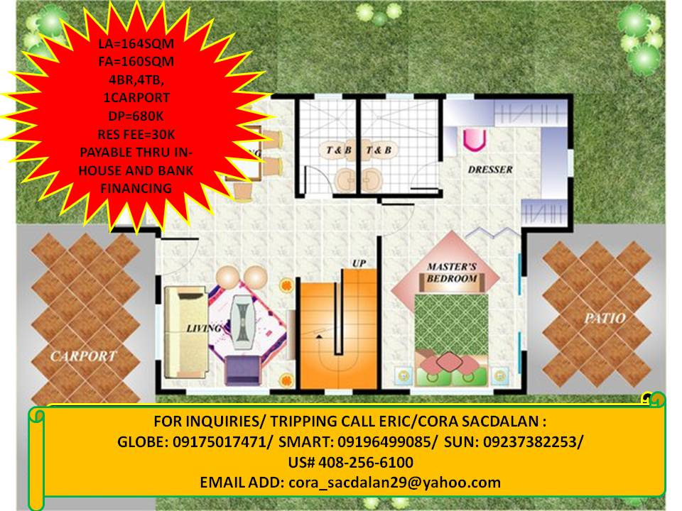 4bedrooms, ready for occupancy, single detached