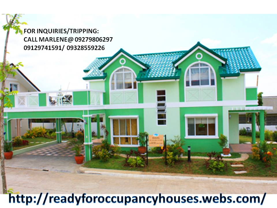 Elyza Model big house with 4bedrooms 4toilet and bath carport and terrace turn over complete