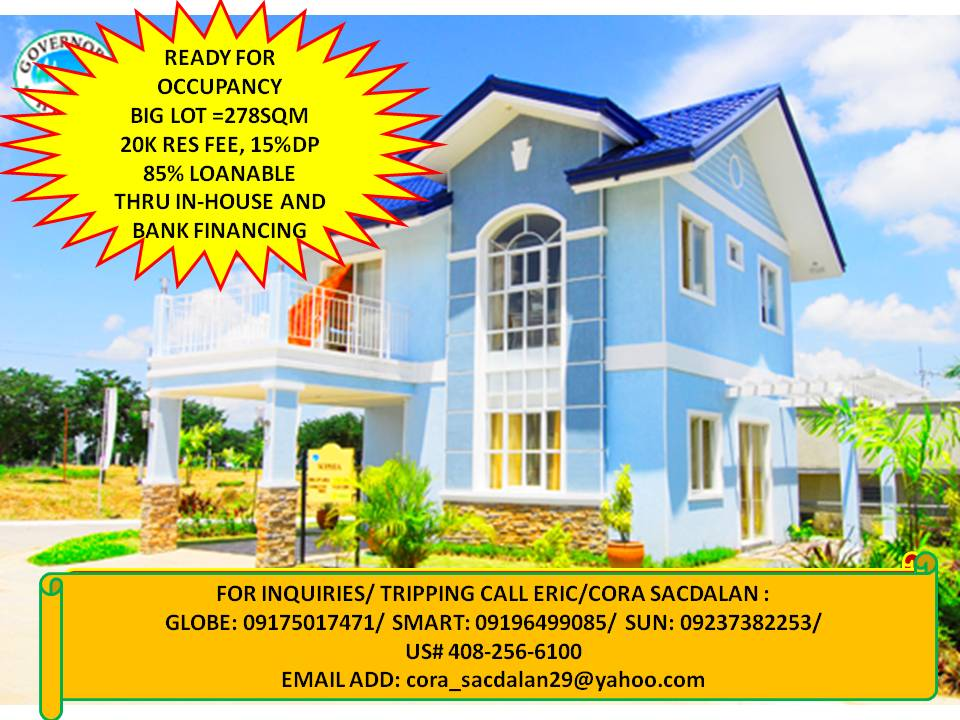 house and lot single detached rush sale