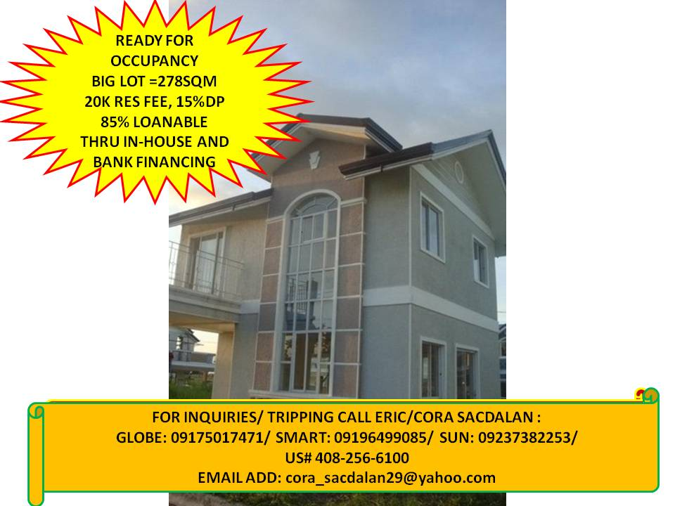 4 bedrooms single detached, rfo