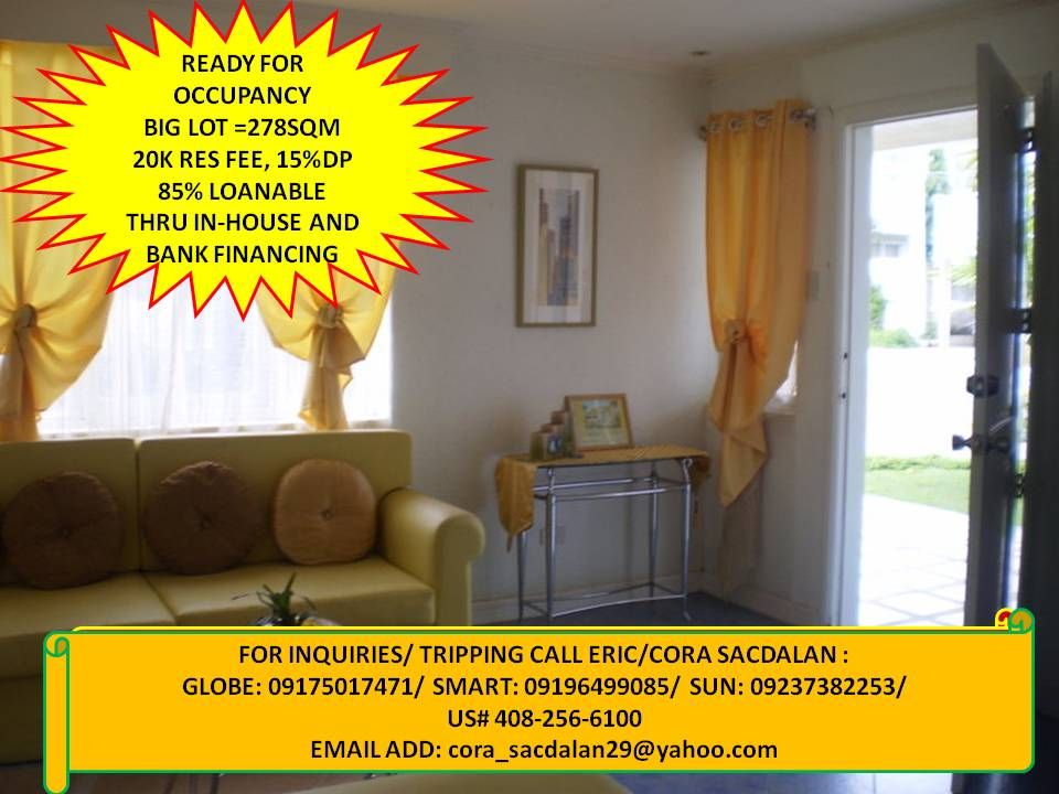 single detached 4 bedrooms rush for sale
