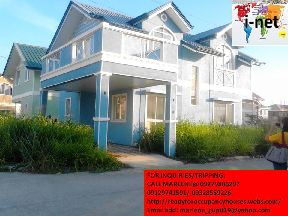 Jasmine model, house and lot for sale, ready for occupancy, corner lot, near at Lyceum University in Cavite, near in all commercial establishment, 20-30mins to tagaytay, 45mins-1hr via Cavitex to Moa and Baclaran