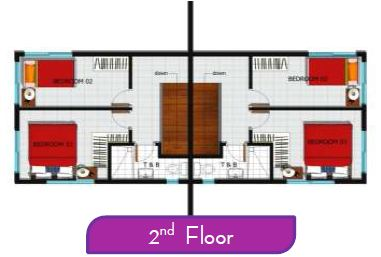 Almiya House and Lot Amani Floor plan