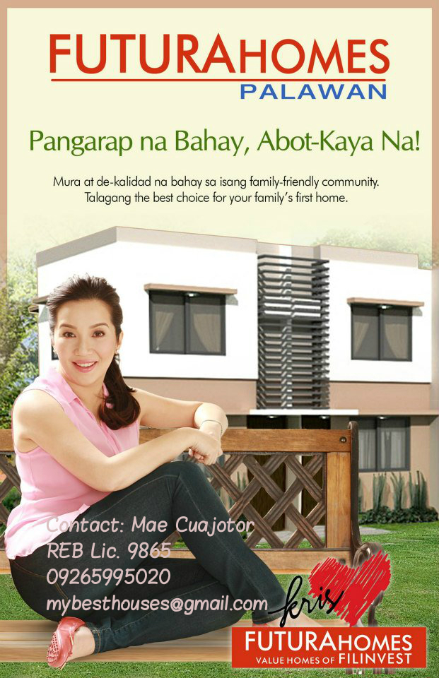 Futura Homes Palawan- Value Homes of Filinvest Land