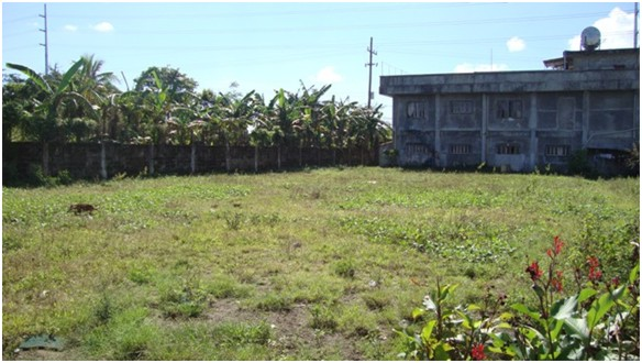 More than 1500 sqm vacant lot at the back