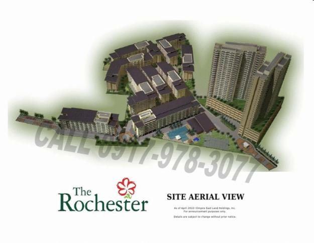 The Rochester Condominium. No Down Payment and Zero Interest. Affordable Investment and Good Location