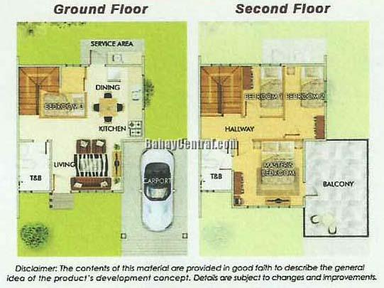 Danna Expanded House Floor Plan