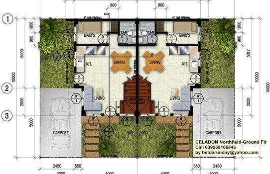 Celadon Ground Floor