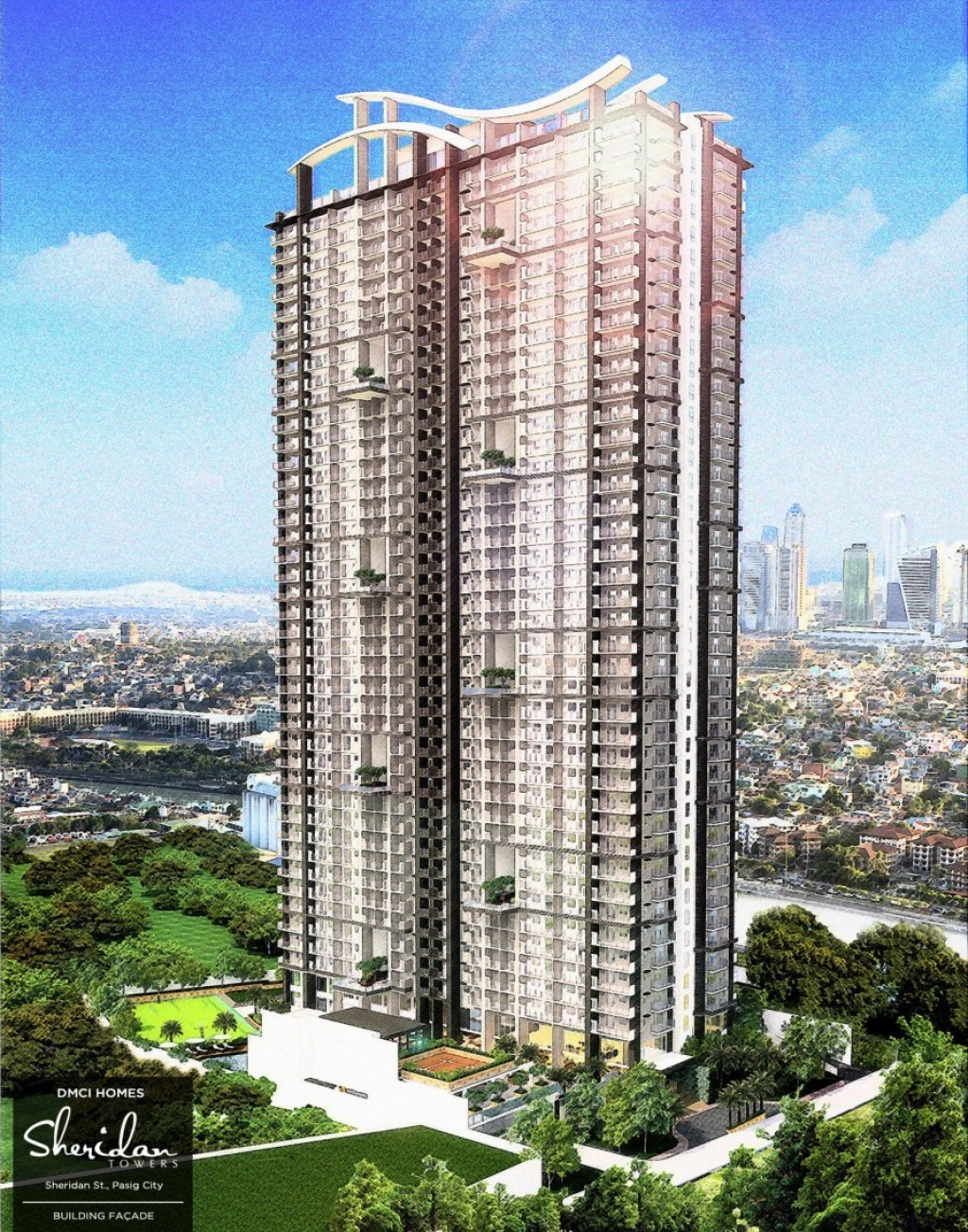 Sheridan Towers - Facade
