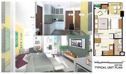 City Loft Mango Avenue Floor Plan