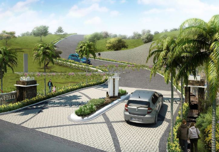 Priveya Hills Lot Only Entrance Perspective